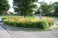 Beaver and Indiana pocket garden