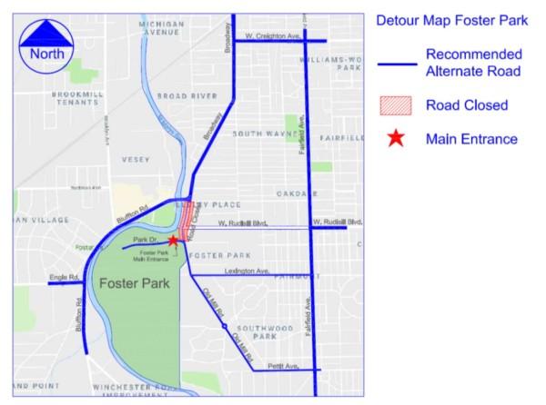 Park detour
